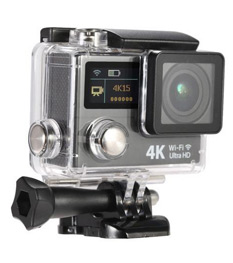 2 Inch Dual Screen HD 4K 170° Wide-angle Action Camera