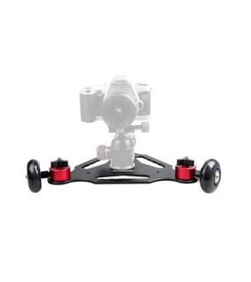 Andoer 3 Wheels Desktop Camera Video Rail Track Slider Dolly Car