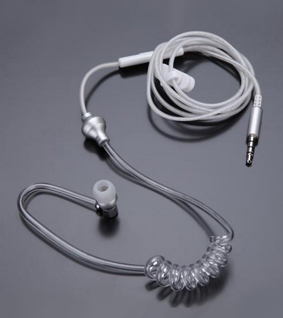 Anti-radiation Air Tube Stereo Headset