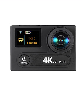 "2"" Dual LCD Screen 360 VR 4K 30fps Action Camera"