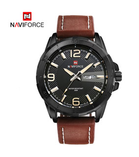 NAVIFORCE 3ATM Water-resistant Quartz Watch