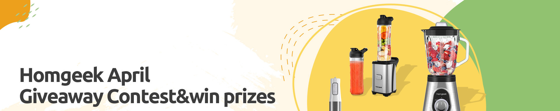 Join homgeek's Giveaway Competition & Win Prizes