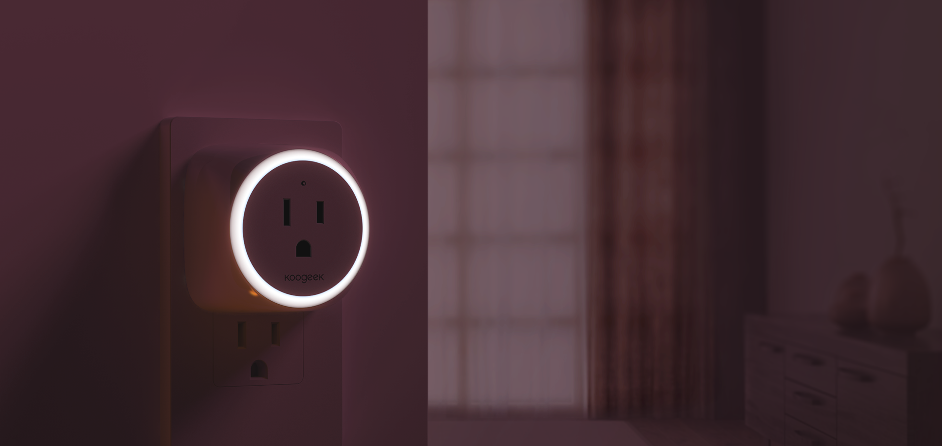 Wi Fi Enabled Improved Smart Plug Electrical And Switchceilinglightjpg The Led Night Light Is Built Into Outlet Which Also Works With Apple Homekit Amazon Alexa You Can Ask Siri Or To Turn On Off