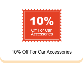 10% Off For Car Accessories