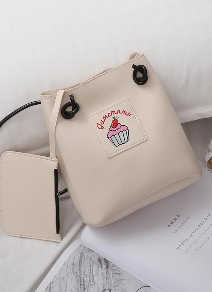 c1a0c38a23811 Mädchen Soft PU Leder niedlich Print Crossbody Taschen