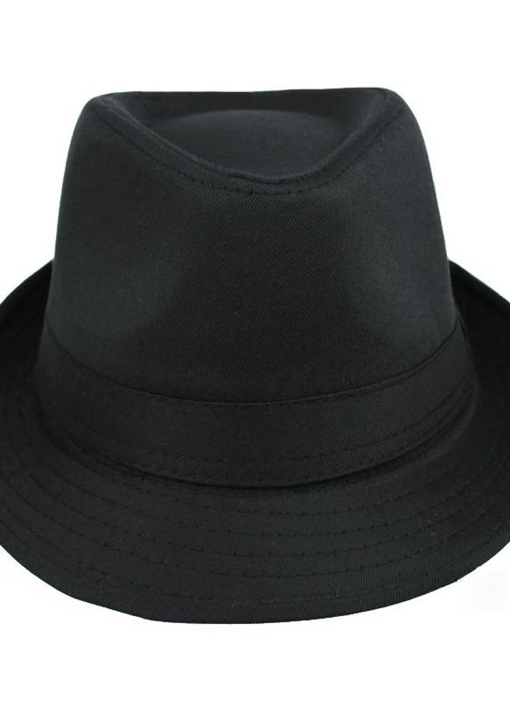 Nuevos hombres de las mujeres de moda sombrero rizado ala disco hip-hop  Jazz británico 6036c51ae5c