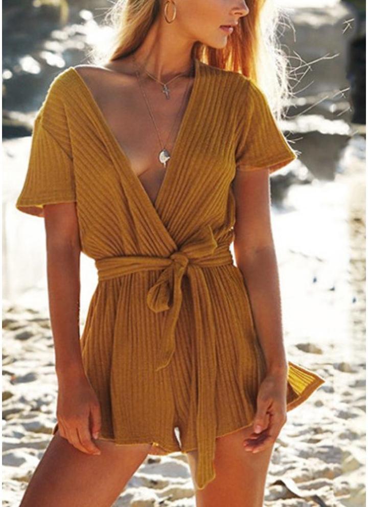 Da Donna Estive Mini Tutina Donna Tuta Beach schiena scoperta Pantaloncini Uk