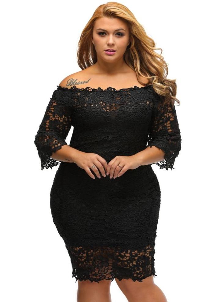 c4711328d0 Nuevos atractivos más el tamaño de vestido de las mujeres del hueco del  cordón de la