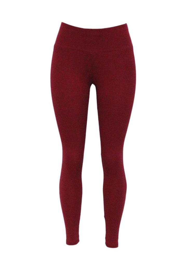 493a2650cb Femmes Leggings sport solide sport Yoga Fitness Plaine Skinny Pantalon