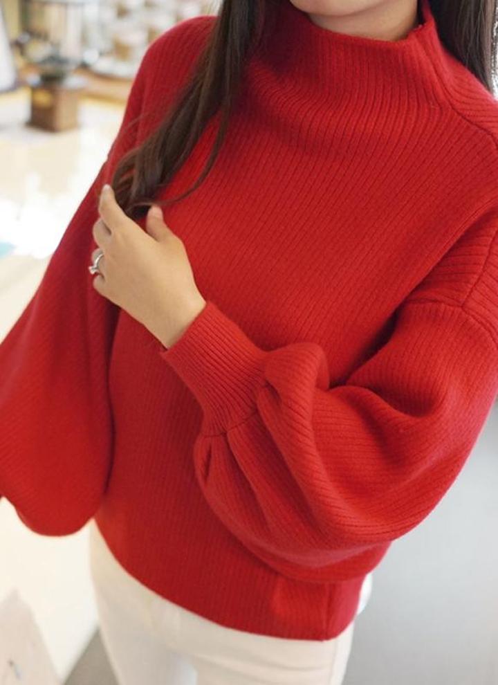 Cardigan in lana con bottoni incrociati da donna Casual Maglia a maniche lunghe con collo alto e maglione lavorato a maglia Autunno Inverno