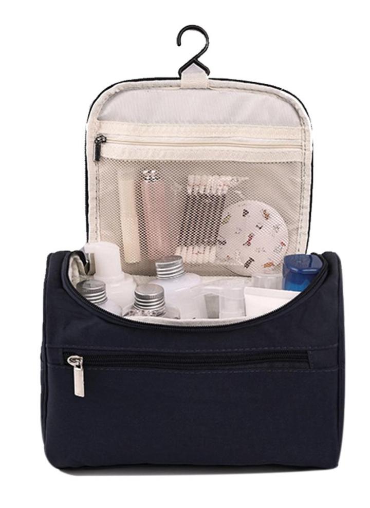 Portable Trousse de toilette multifonction Cosmétique Sac étanche pochette de maquillage pour voyage bleu marine BRrUu29JBf