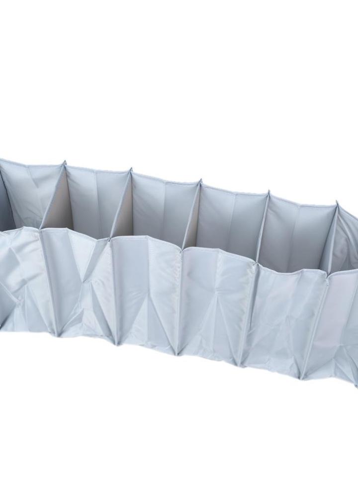 6 Schicht Hängen Schrank 6 Fach Klappbar Speichertasche Multifunktional  Hängende Regal Für Kleidung Zubehör