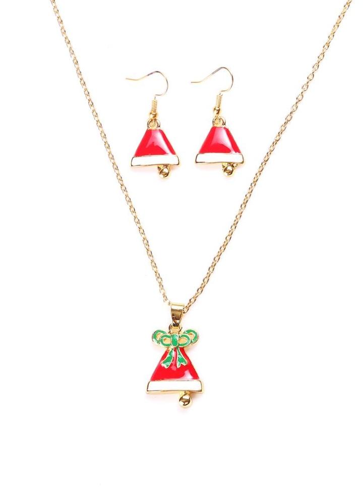1 Arbeiten Sie reizend Weihnachten Metall Zink-Legierung Halsketten ...