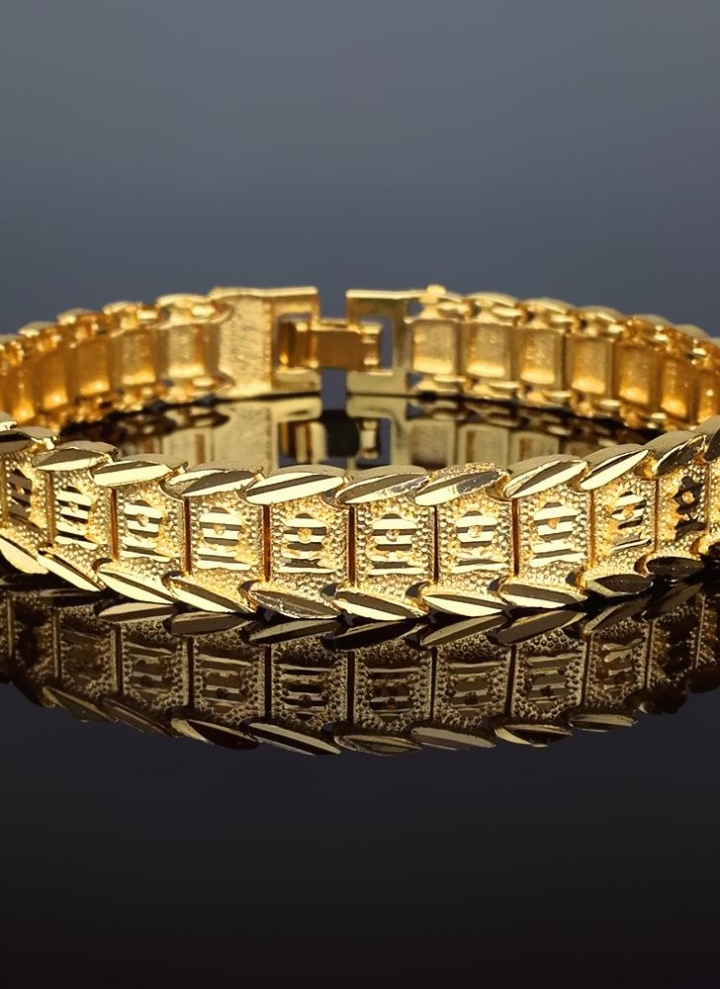 metallic diamond bangle coin gold in appassionata yellow bracelet roberto lyst bangles jewelry