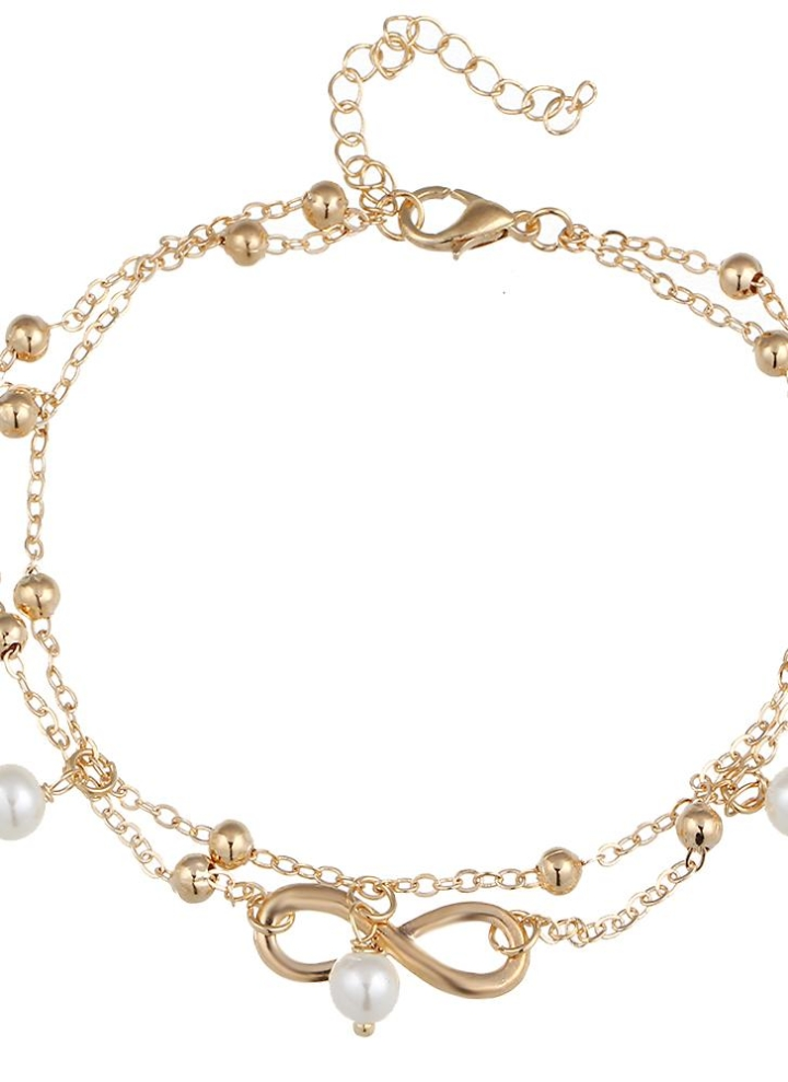 698a4dfb70ec De moda a todo color Elegante hecho a mano simulado pulsera de la cadena de  la