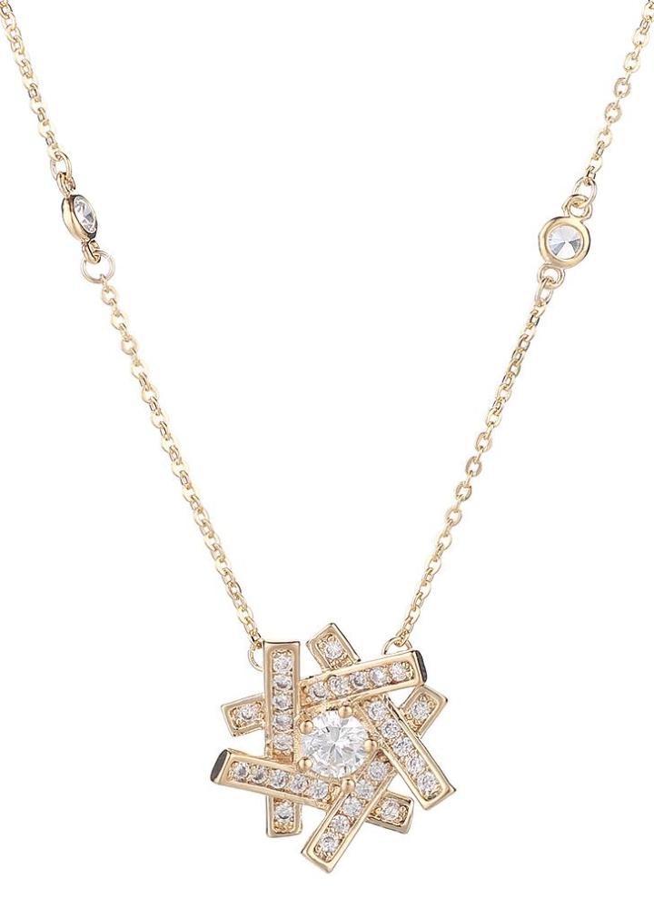 53517a802562 Collar femenino elegante estupendo y agraciado del signo de la paz del  diamante