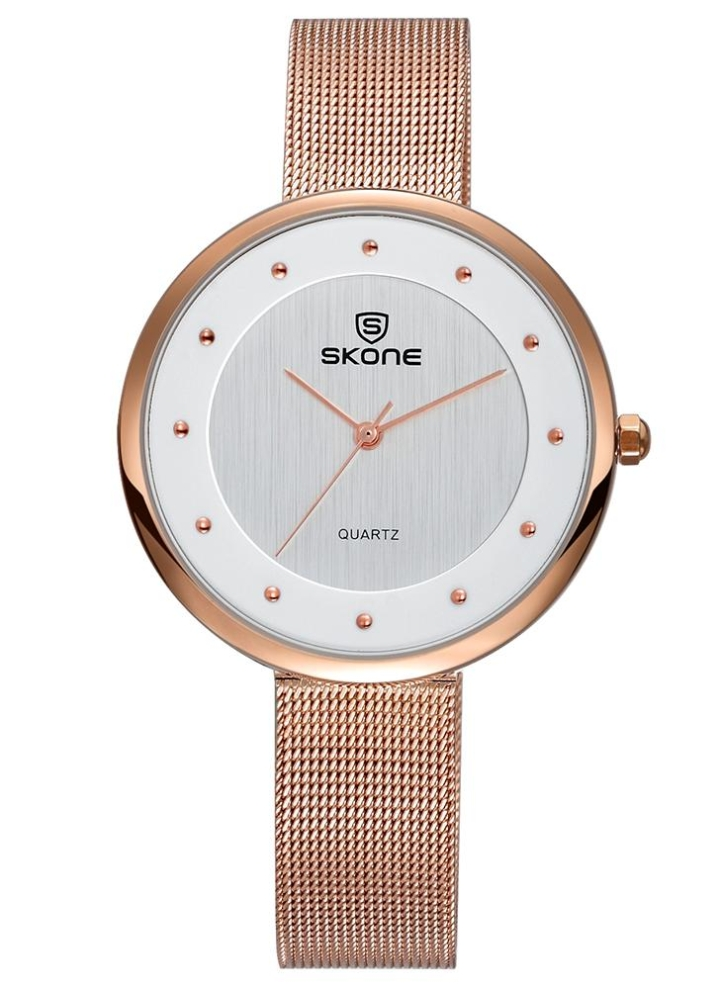 e9f93881f12 SKONE 3ATM Relógio de pulso impermeável Relógios de mulher casual