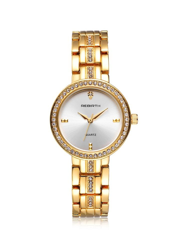 b508708dcd1 REBIRTH Fashion Casual Quartz Watch Life Water-resistant Luxury Watch Women  Relógios de pulso Feminino