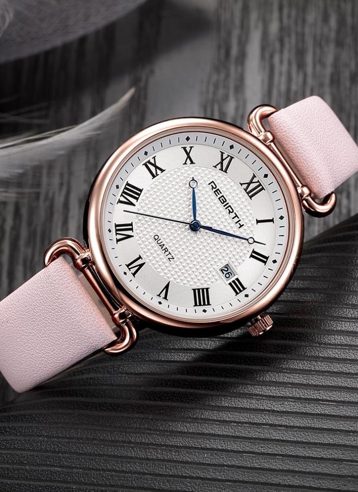 73e6d5e7967 REBIRTH Relógios de mulher de moda 1ATM Quartz resistente à água Casual  Relógio de pulso simple