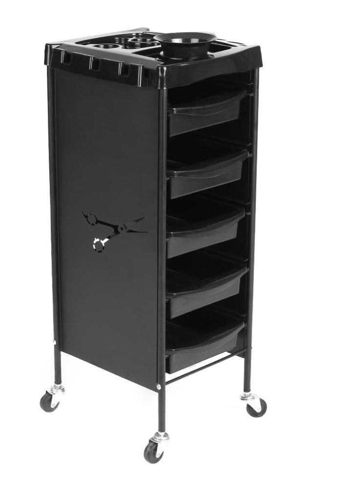 sc 1 st  Chicuu.com & Hair Drawers Hair Salon Trolley Storage Rolling Cart