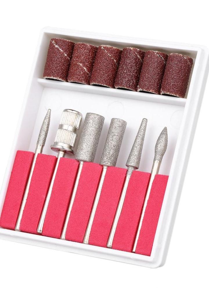 us Electric Nail Manicure Pedicure File Drill Machine Art Mini Pen ...