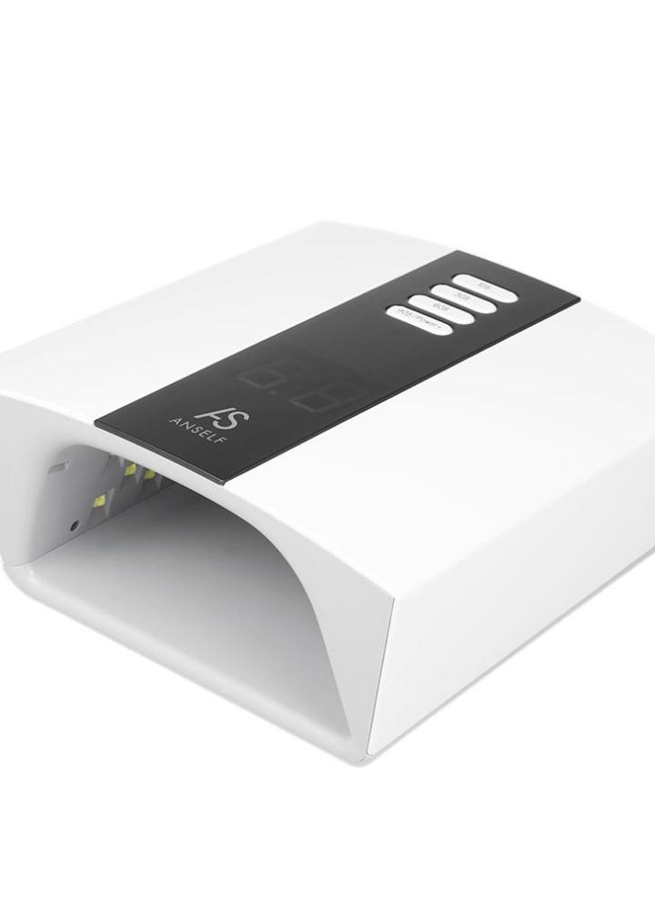 eu Anself 48W/60W Adjustable UV LED Nail Lamp Professional Nail Gel ...