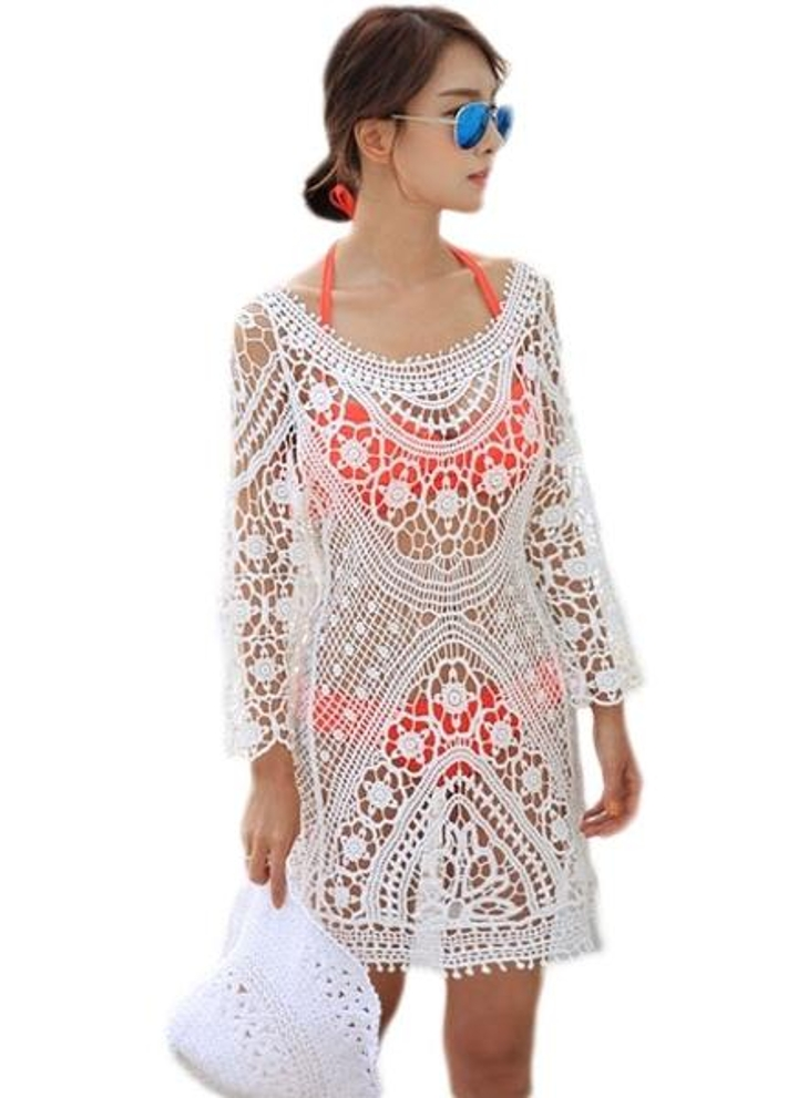 Lace Beach Dress