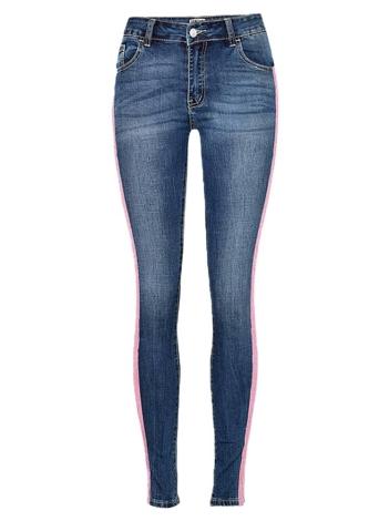 Pantalones de mezclilla Skinny Denim Jeans Classic High Washed Pants para mujeres