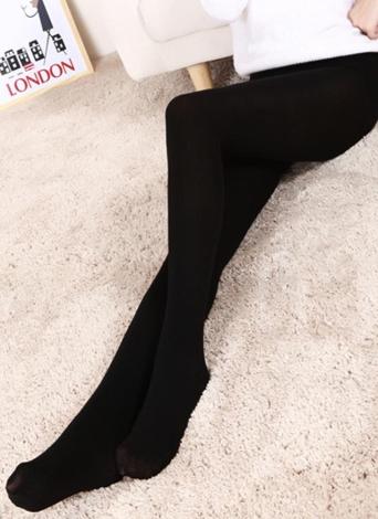 Sexy Frauen Herbst Winter feste hohe elastische dünne warme Leggings