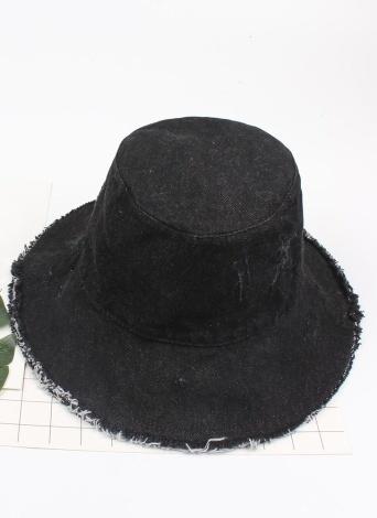 Sombrero del sombrero del sol del dril de algodón del sombrero del sol de las mujeres del verano de la moda Sombrero ancho Sombrero del cubo de la prueba del sol plegable del borde ancho