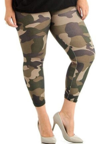 Plus Size Sports Pants Fitness Yoga Slim Trousers