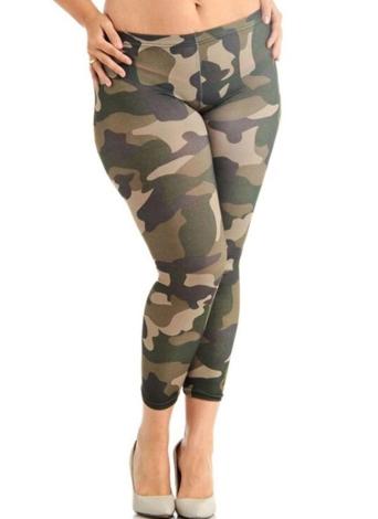 Pantalones deportivos de tallas grandes Pantalones slim de fitness Yoga