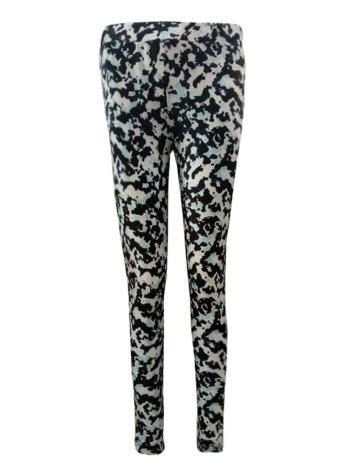 Mulheres Impresso Leggings Cintura Alta Skinny Calças Justas Slim Bodycon Lápis Calças