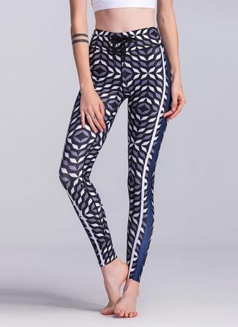b1a886cc06958 Sexy Women Slim Leggings Sport Yoga Print Skinny Pencil Pants Trousers