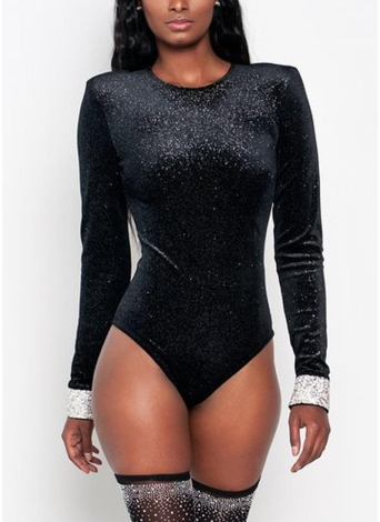Sexy bodycon mujeres body mameluco de terciopelo de manga larga con cuello en v cremallera casual club jumpsuit mono