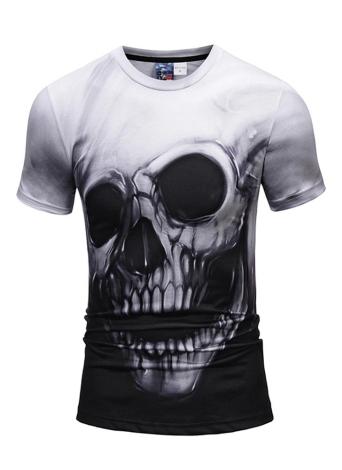 3D Kurzarm T-shirt Vivid Druckmuster Lose Stil für Frauen