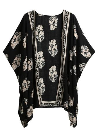 Sommer-Bikini-Abdeckung oben Blumen-Strand-Robe-Frauen Kimono