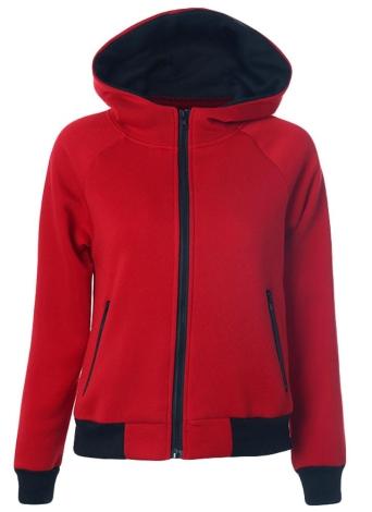 Art und Weise Sweatshirt Herbst-lange Hülsen-Reißverschluss-Kapuzen-Mantel-Frauen-Kapuzenpullis