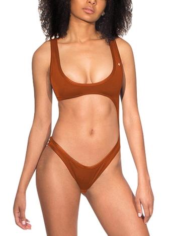 Frauen Badeanzug Badeanzug Bademode Ausschnitt Ausschnitt Backless Badeanzug Beachwear