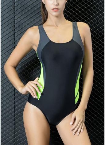 Mulheres Professional Sports One Piece Swimsuit Swimwear Roupa de banho brasileira Beachwear
