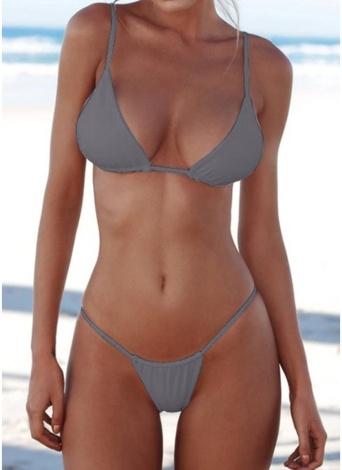Brazilian Push Up Gepolsterter Bikini Set