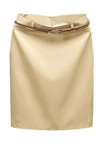 10ee6ce6b metro beige Europa Sexy faldas las mujeres OL Mini falda Color ...