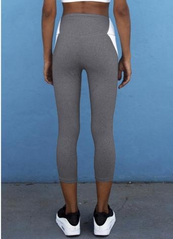 L,2- Verde Xmiral Tight Calzamaglie Nuovi Pantaloni impunturati Colorati in Esecuzione Pantaloni da Allenamento per Yoga