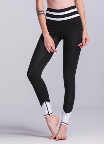 Женщины Спортивная Йога Леггинсы Сплайсинг Stretchy Skinny Bodycon Tights