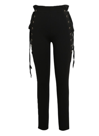 Sexy Women Side Criss Cross Pants