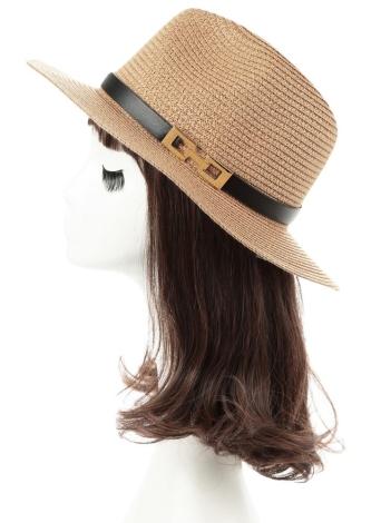 ONLY Damen Strohhut Panama Hut Sonnenhut Sonnenschutz