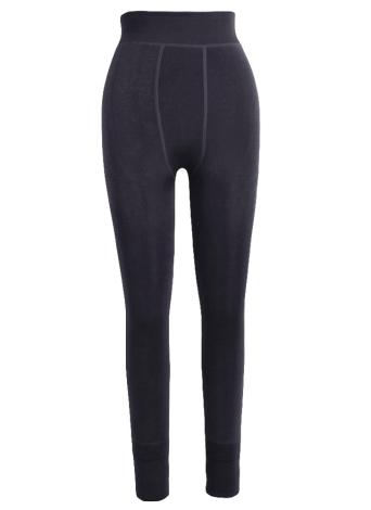 Las mujeres de invierno gruesas faldas de terciopelo cálido cálido Leggings