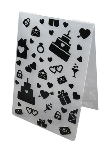 Plastic DIY Cutting Dies Plastic Decorative Embossing Folder Cake Biscuit Baking Mold