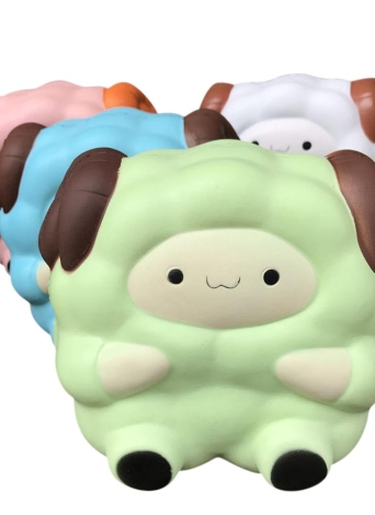 Soft Cute Cartoon Big Sheep Simulation Toys Antistress Squishy Slow Rising Toy Squeeze Stress Reliever Fun Kid Gift