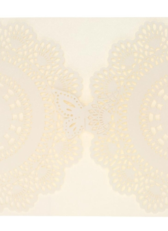 20Pcs Romantic Wedding Party Invitation Card Delicate Carved Pattern Banquet Decoration
